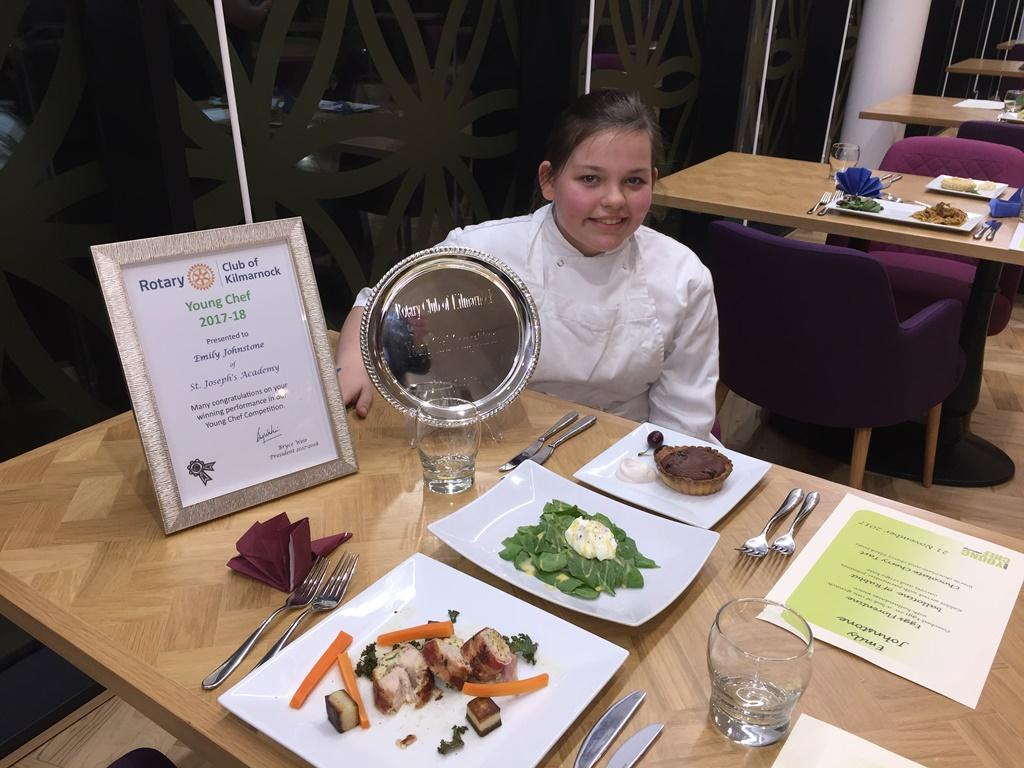 Young Chef Competition 2017 - Our Winner Emily