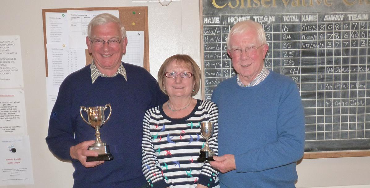 Dave Covill Challenge Cup and Partners Skittles Cup -