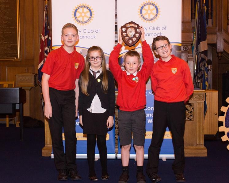 Primary Schools Quiz 2016 - 2016 Winners - Onthank Primary School