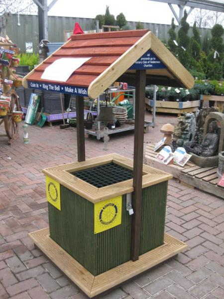 Wishing Well at Spring Garden Centre