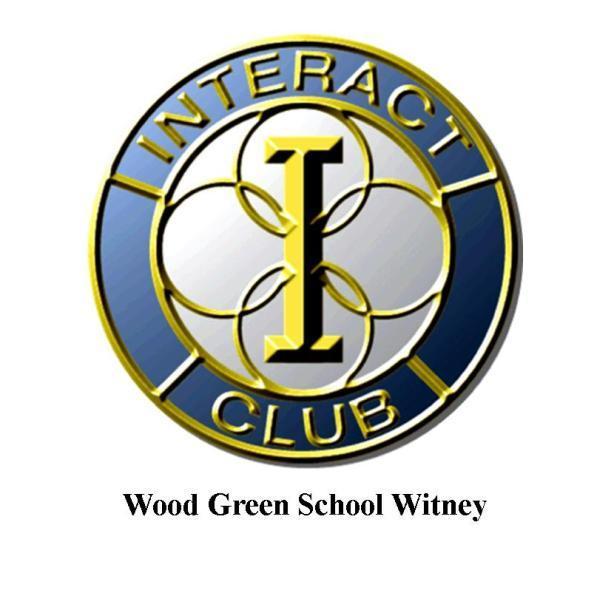wood green school interact club rotary club of witney rh rotary ribi org  rotary rotaract interact logo