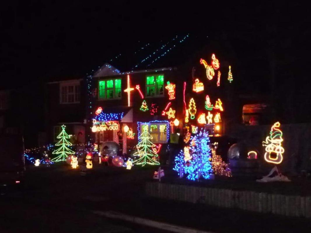 Christmas Lights in Ripley