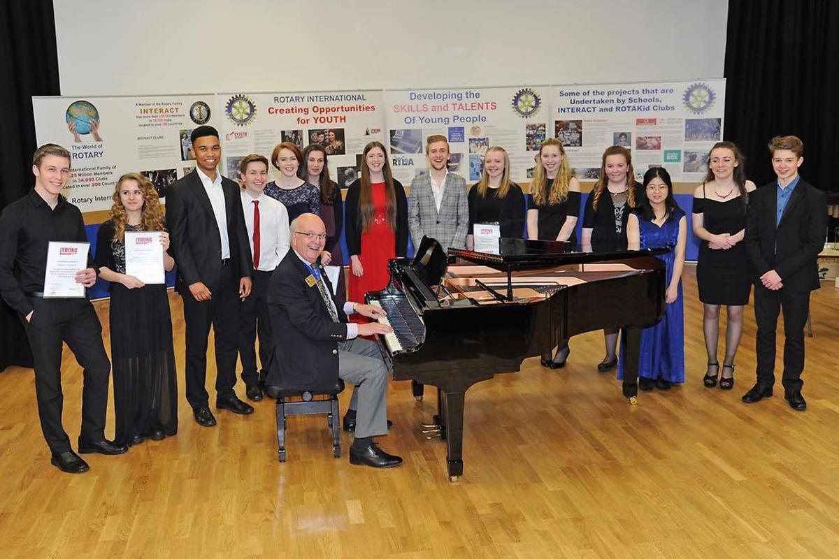 Young Musician Final 2016 - Vocal and Instrumental Finalists