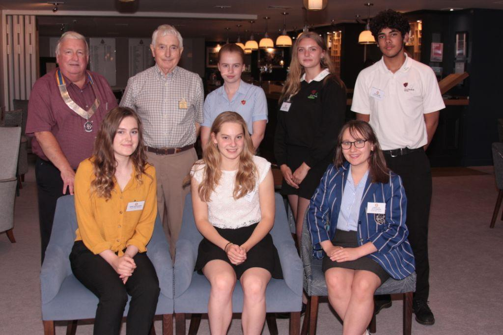 Fleet Rotary's Young Speakers 2018