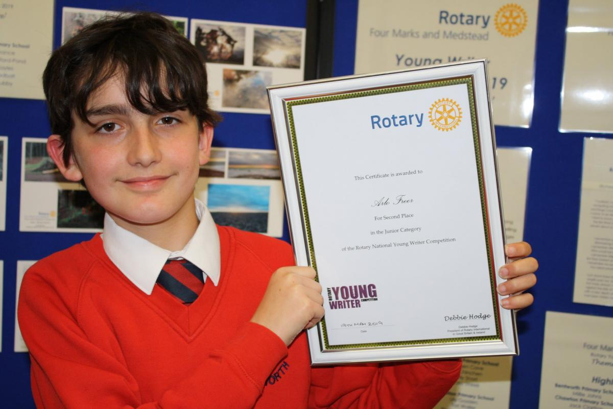 Rotary Young Photographer winner 2019