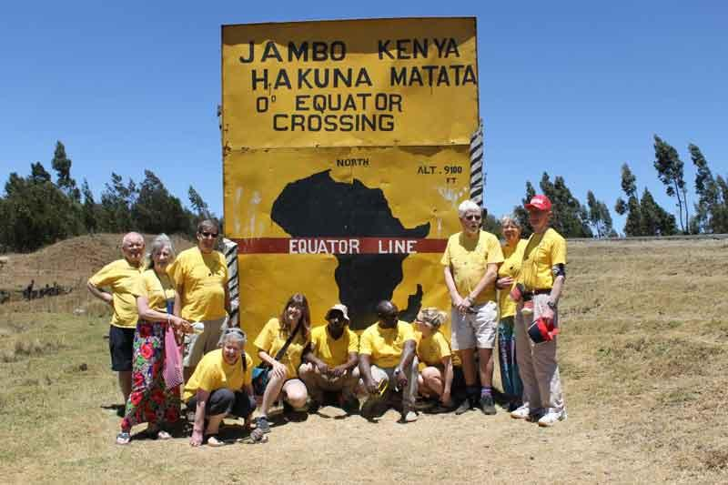Yellowmen Visit to Kenya - March 2018 -
