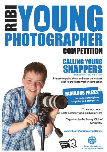 Young Photographer Competition 2013 - Young Photographer Poster