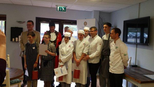 The Bury Abbey Rotary Young Chef Competition
