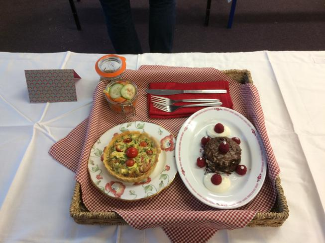 Young Chef competition 2016 - The winning meal