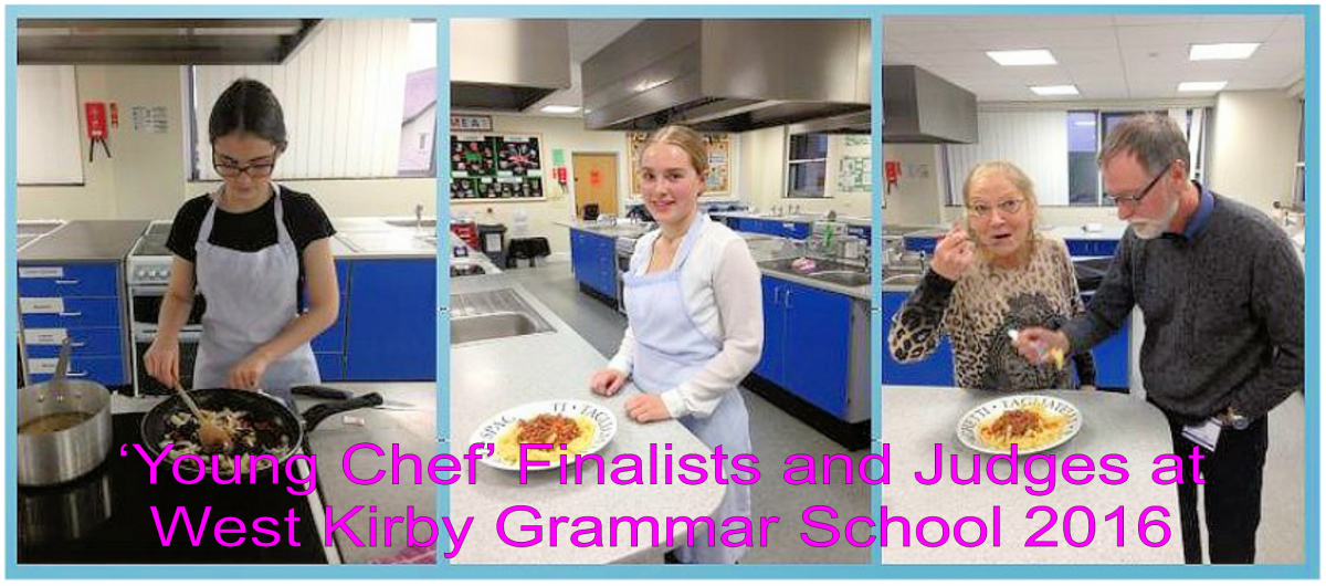 Youth Service - 'Young Chef' Club Finalists and Judges 2016