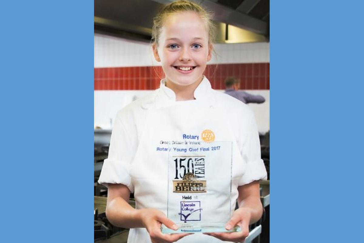 Young Chef National Winner - Tabitha Steven - Young Chef 2017