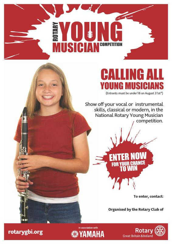 Young Musician Poster 2016