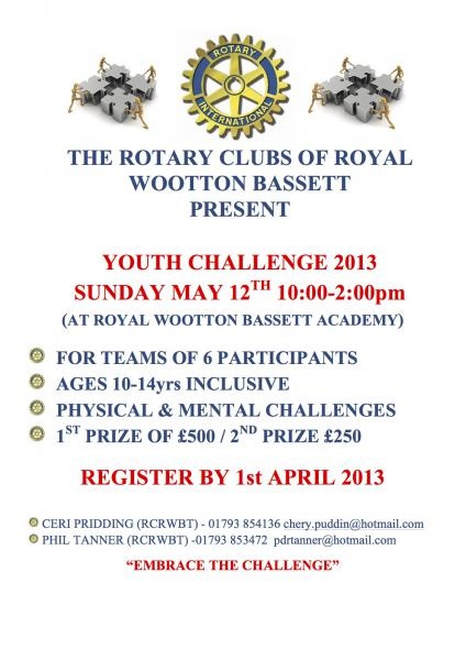 Youth Challenge Recruiting Poster