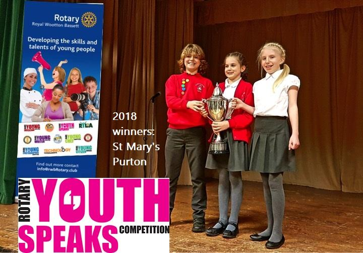 Winners from 2018, St Mary's Purton