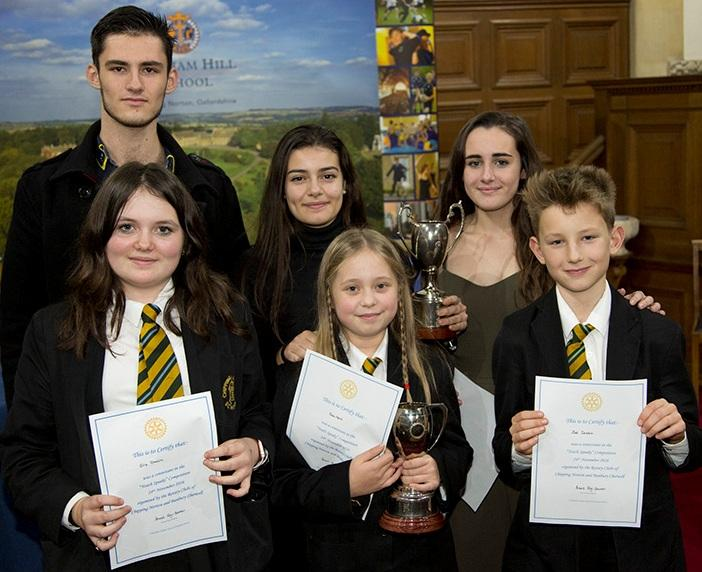 Chipping Norton School swept the board at the Youth Speaks competition held at Kingham Hill School on 24th November.