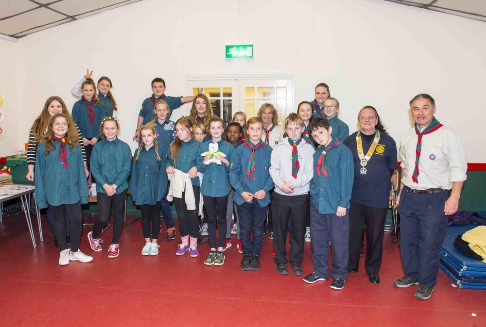 Scouts Visit 2016 & 2017 - The LangIey &Iver Scouts