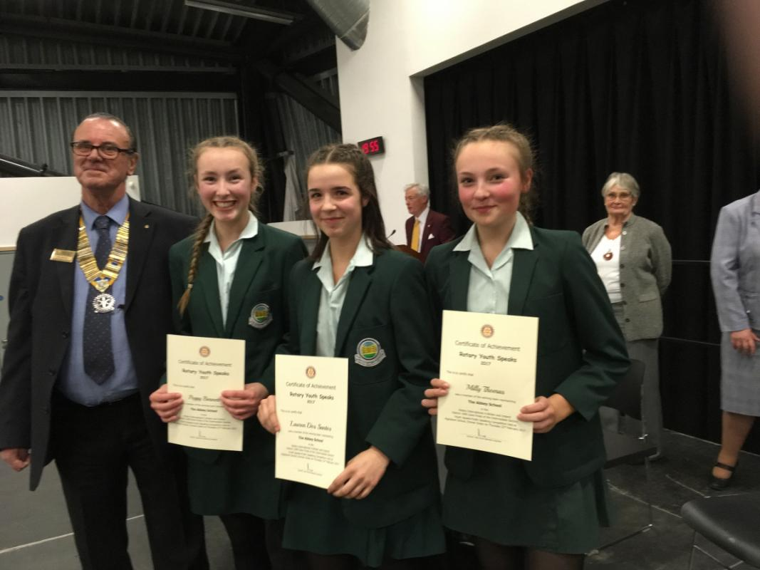 Youth Speaks Competition 2017 Intermediate Section Winners