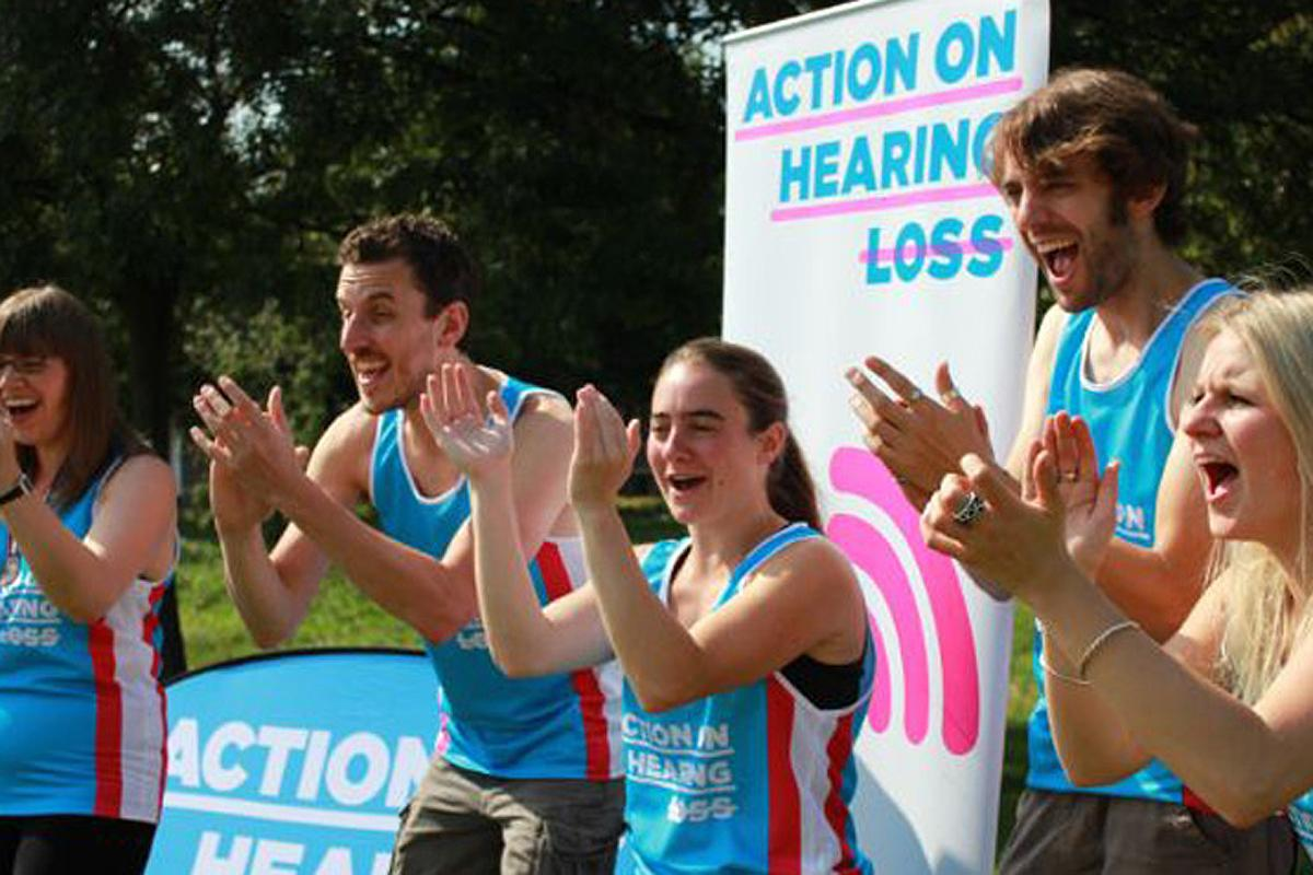 Action on Hearing Loss London Marathon