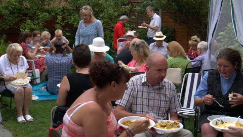 Friends of Blackpool Palatine Rotary Club Garden Party -