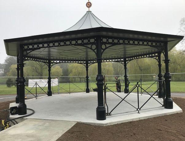 Bandstand as at 17 April 2019