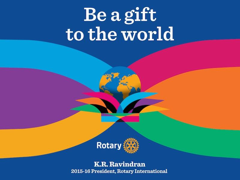 Our Motto for the Rotary Year 2015 - 2016