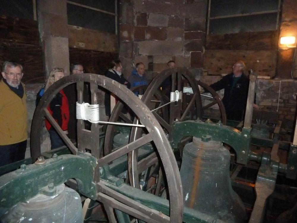 Bell Ringing at Eccleshall Holy Trinity Church - The Bells at Holy Trinity Church, Eccleshall