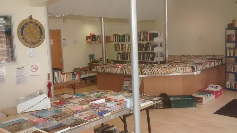 Fund Raising - The Annual Burnham-on-Sea Rotary Charity Bookshop