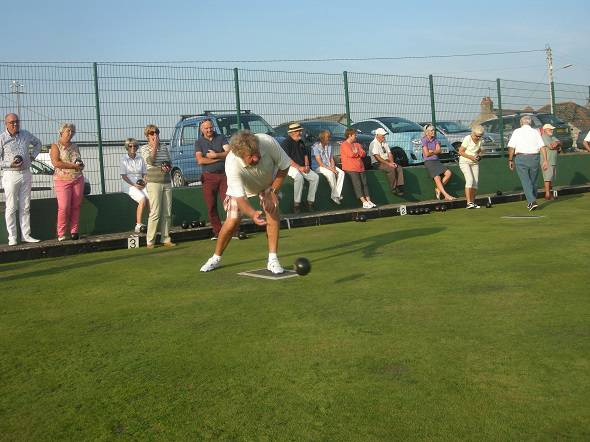 Interclub Bowls match -