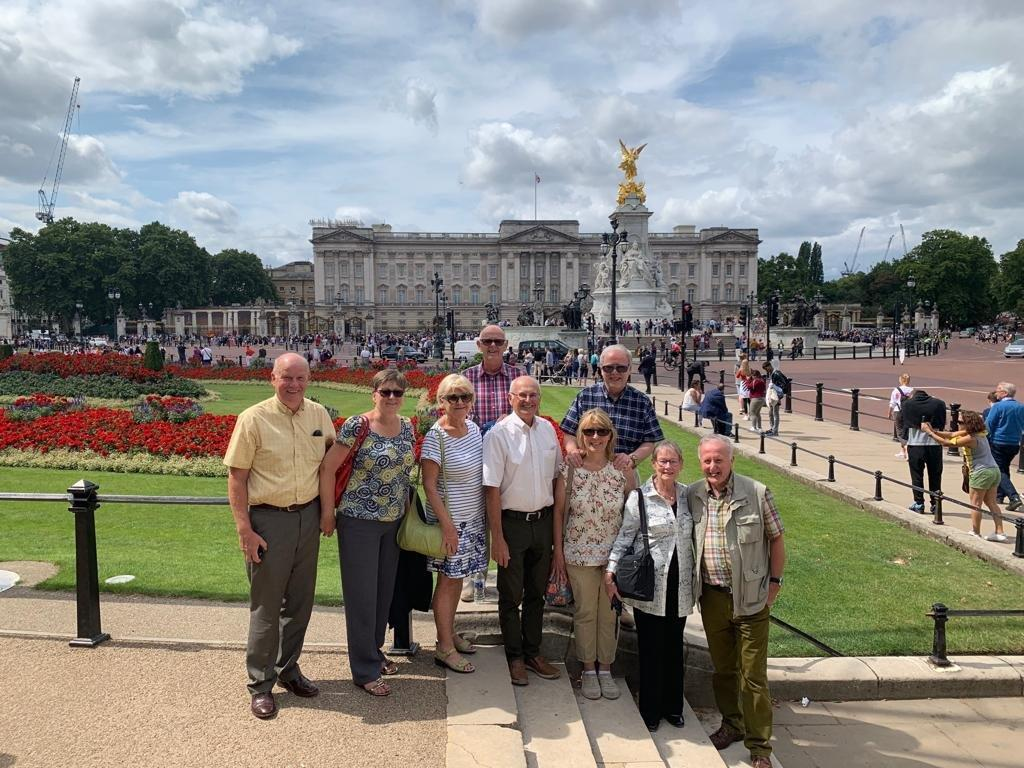 Buckingham Palace visit on 6th August