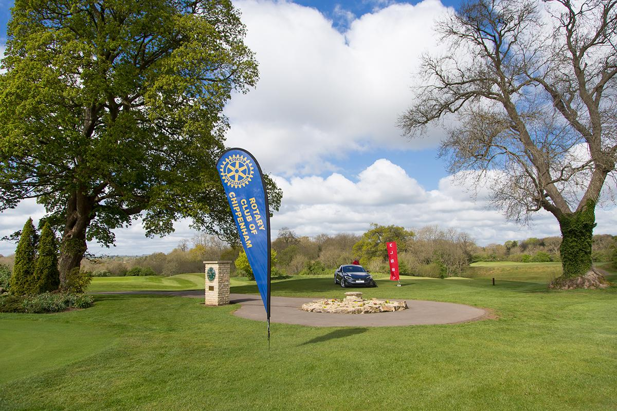 Raising funds for local charities at Castle Combe Golf Course