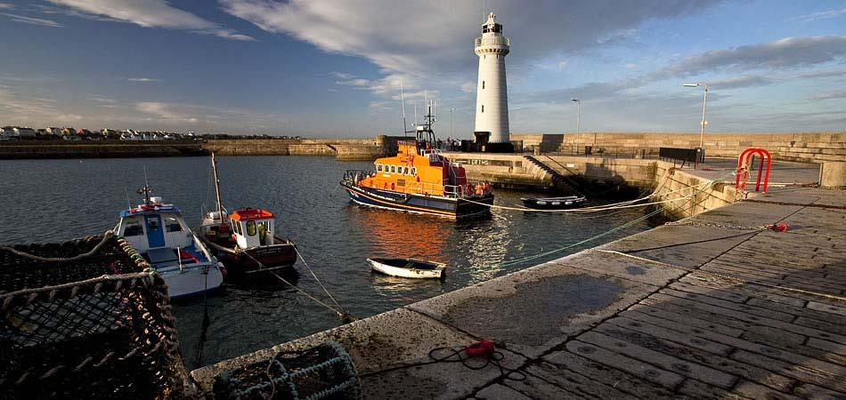 Visit to Northern Ireland - Donaghadee Harbour