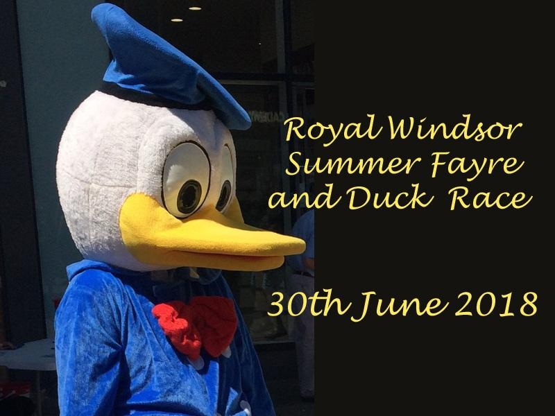 OUR SUMMER FAYRE AND DUCK RACE 2018 -