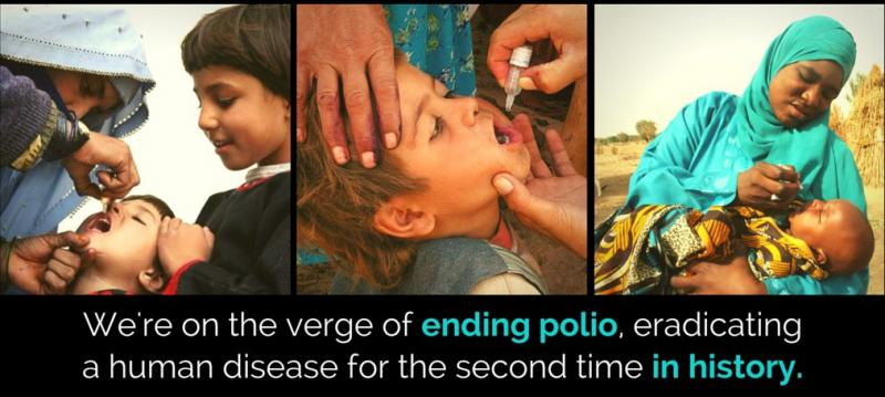 On the verge of ending Polio