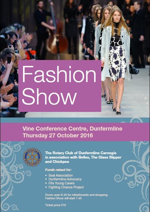 Fashion Show at Vine Conference Centre, Dunfermline