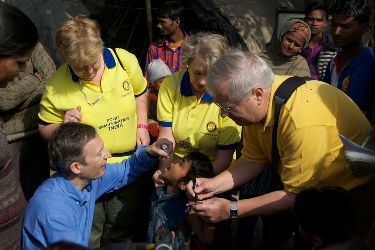 Working to eradicate Polio