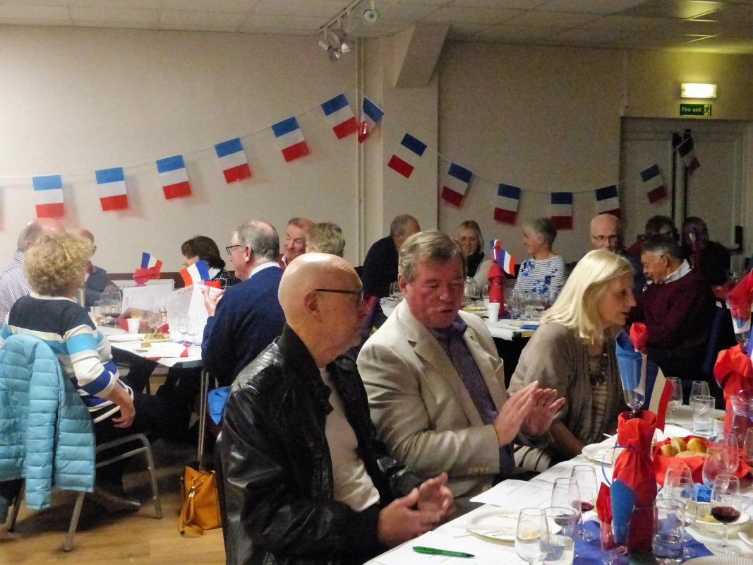 French Evening Saturday 25 November -