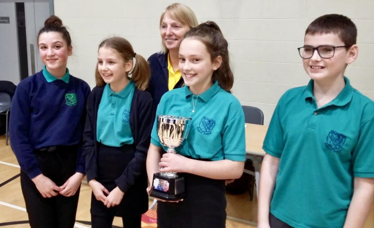 Rotary Primary School Quiz Club Heat 2019 - Wallace Hall Primary Hall Team