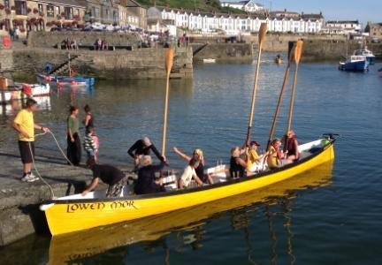 Helping local communities - Porthleven Gig club
