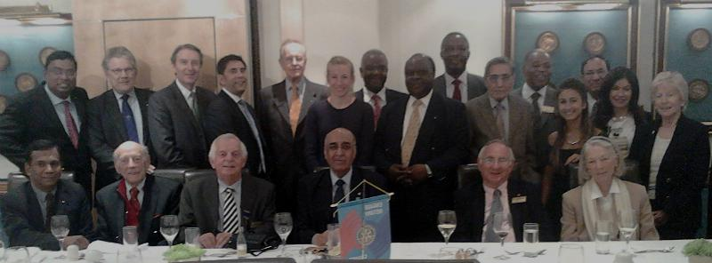 Past Presidents' Day  - Rotarians and Guests at the Past Presidents Day Lunch on 14th May 2014