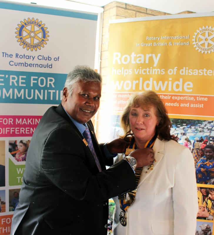 A special year for The Rotary Club of Cumbernauld