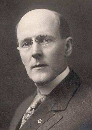 Image of Paul Harris, who founded Rotary International