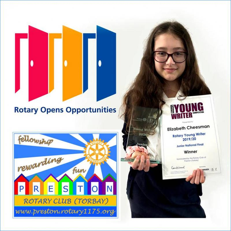 National Success for Our Girl - Young Writer Winner