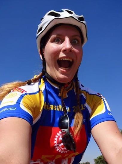 Leanne's Trip to India - A 300 mile cycle trip to raise money to eradicate Polio.