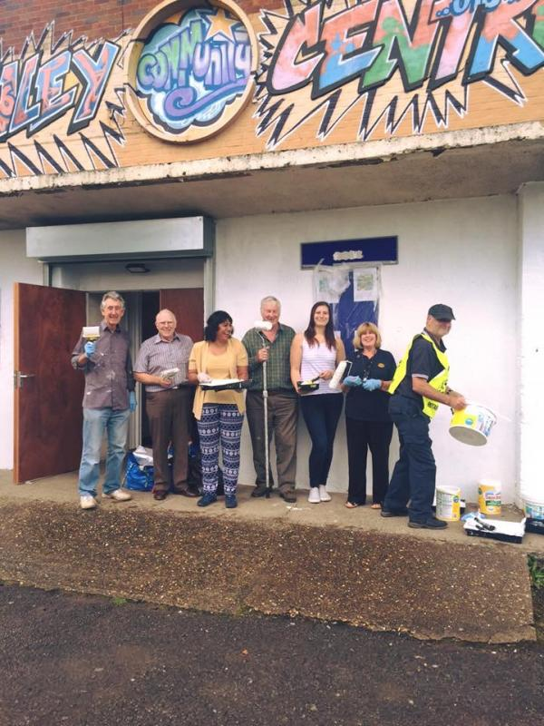 Community & Vocational - Members of Coventry Jubilee helped to transform Canley Community Centre.