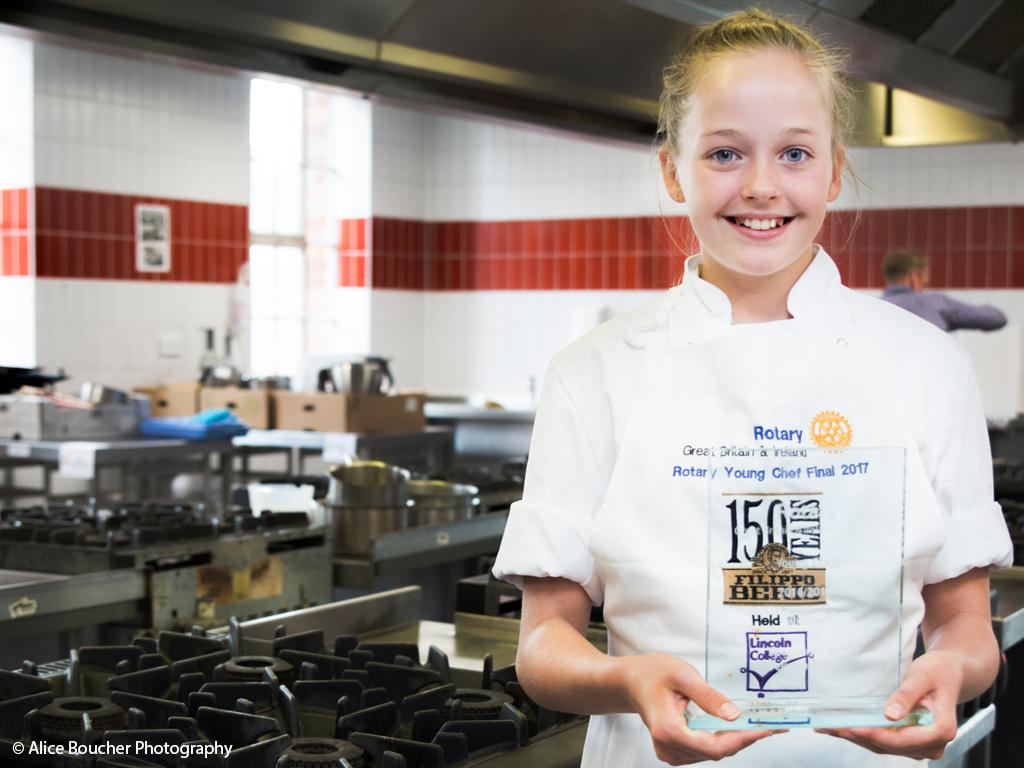 Organising local heats for the national Young Chef competition