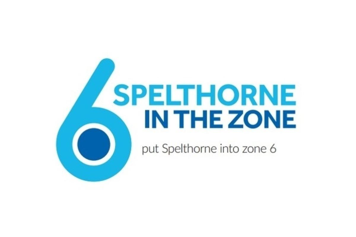 put Spelthorne into Zone 6