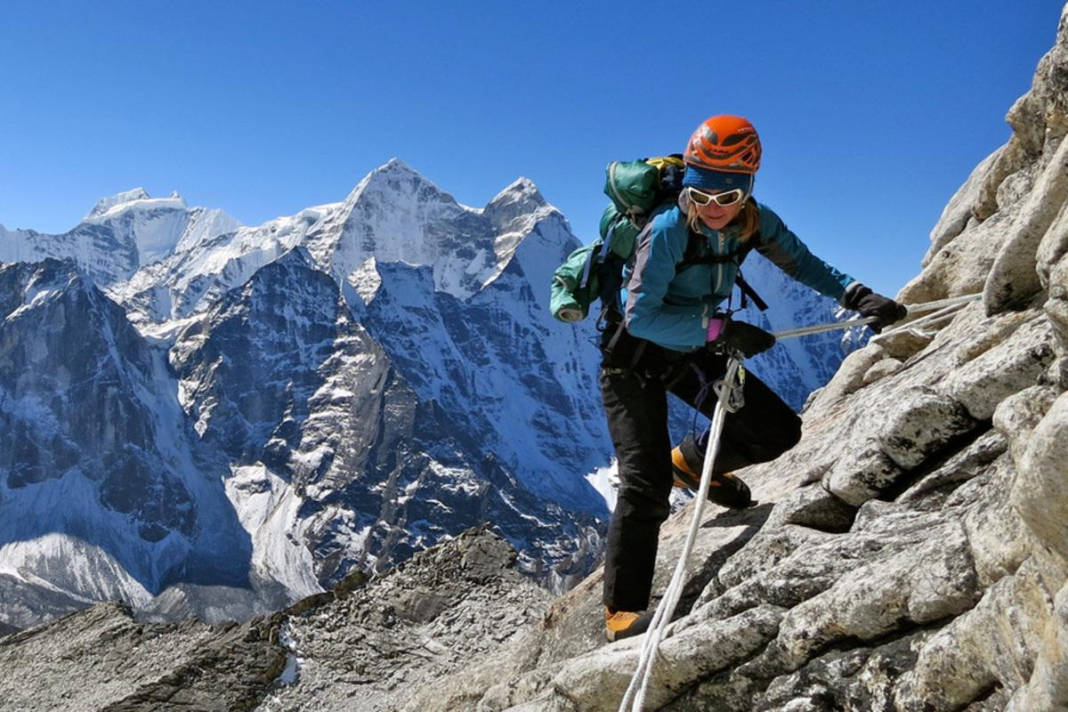 Heather Geluk, accomplished high-altitude mountaineer