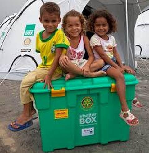 Some Happy Recipitants of a Shelterbox