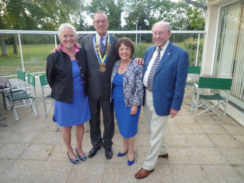 East Cliff Rotary Visits France