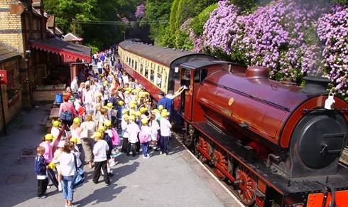 Kids Out at Haverthwaite Railway